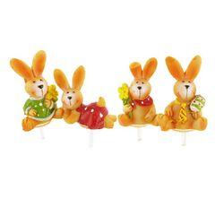 Lapins de Pâques assortis (x4)