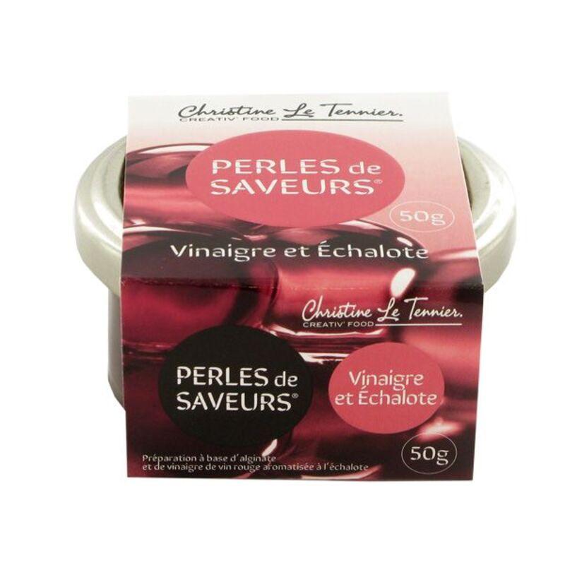 Perles de Saveurs Vinaigre & Echalotes 50 g