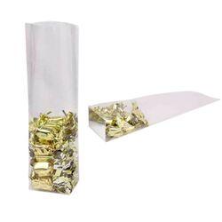 Sac polypropylène fond carton neutre (x100)