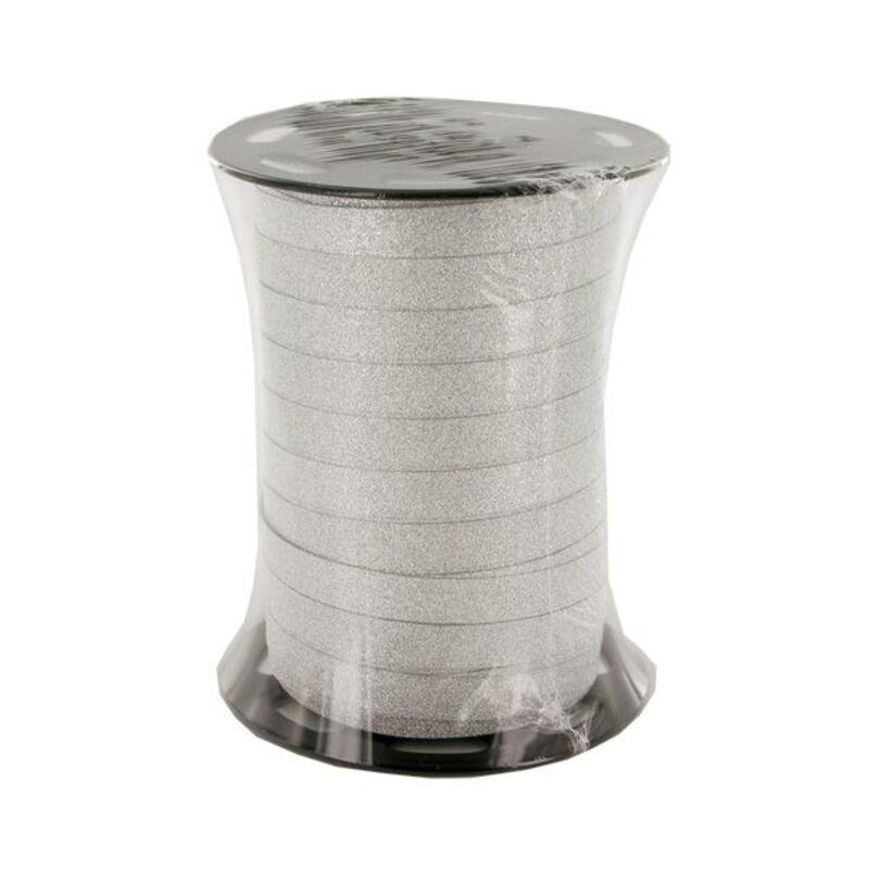 Bolduc argent brillant 10 mm (100 m)
