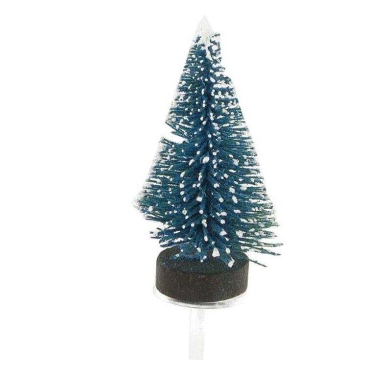 Sapins bleu neige sur pique (x30)