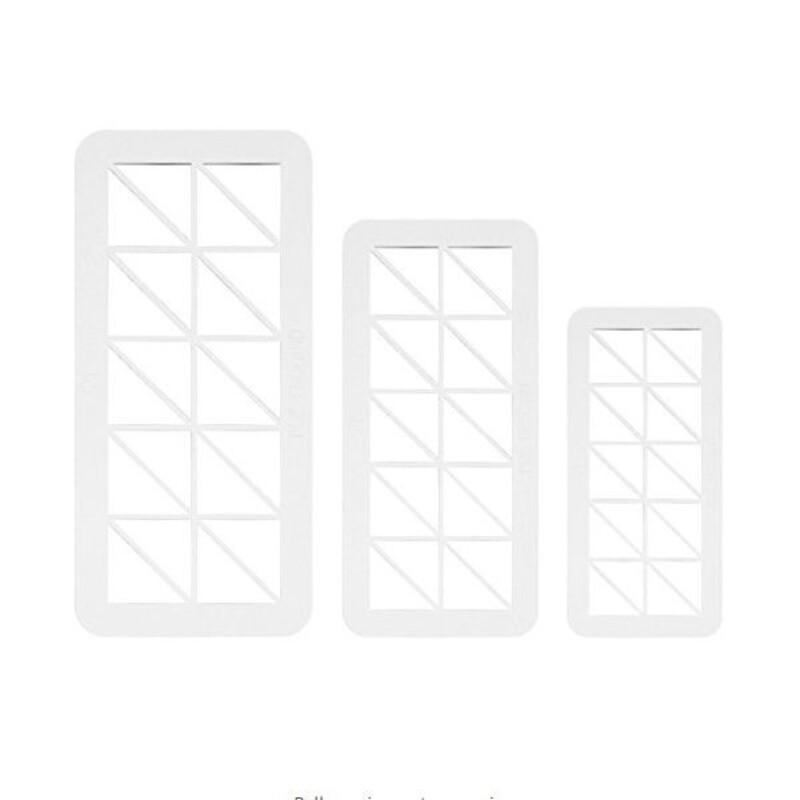 Découpoirs géométriques angles droits PME (x3)