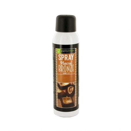 Spray Nacré Bronze Patisdécor 100 ml
