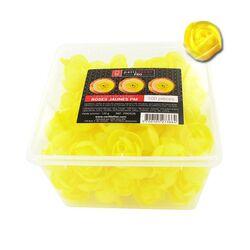 100 petites roses jaunes en azyme Patisdécor Pro