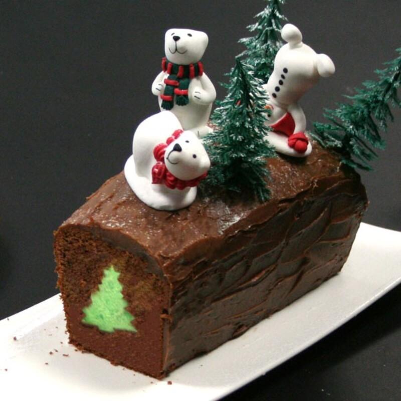 Tuto Cake Surprise de Noel