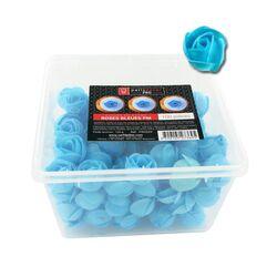 100 petites roses bleues en azyme Patisdécor Pro