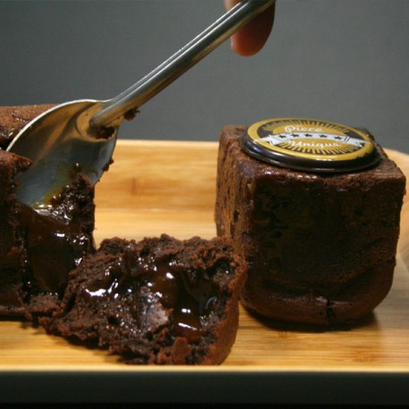 Pack coulant chocolat caramel