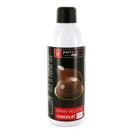 Spray effet velours Chocolat 400 ml
