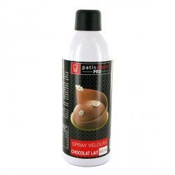 Spray effet velours Chocolat au Lait 400 ml