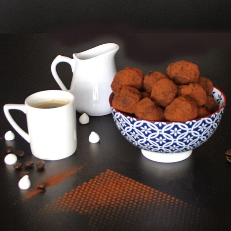 Pack ingredients truffes au chocolat