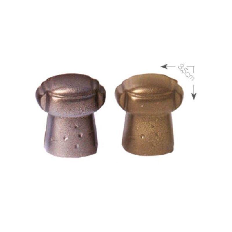 Bouchons en chocolat 3,5 cm (x66)