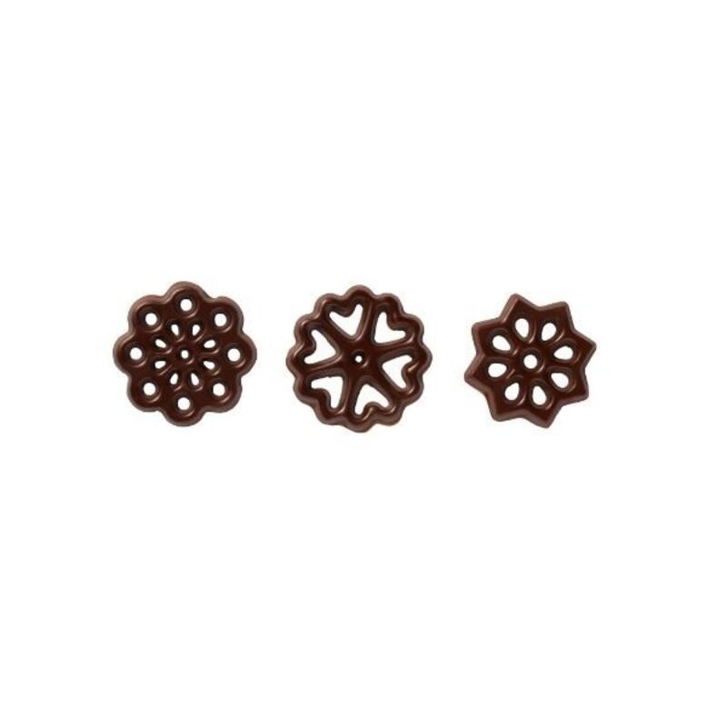 Figurettes chocolat noir assorties (x150)