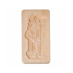 Moule à spéculoos en bois Saint Nicolas