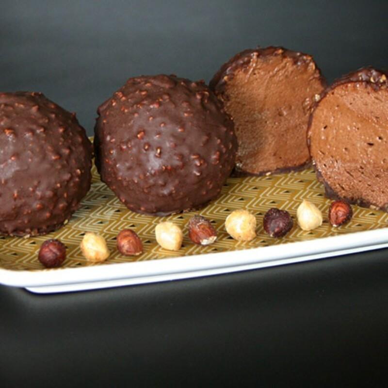 Pack mousse au chocolat