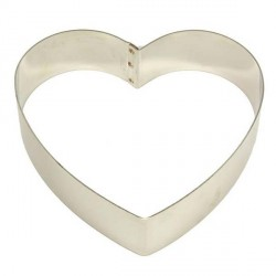 Cercle mousse coeur 22 cm