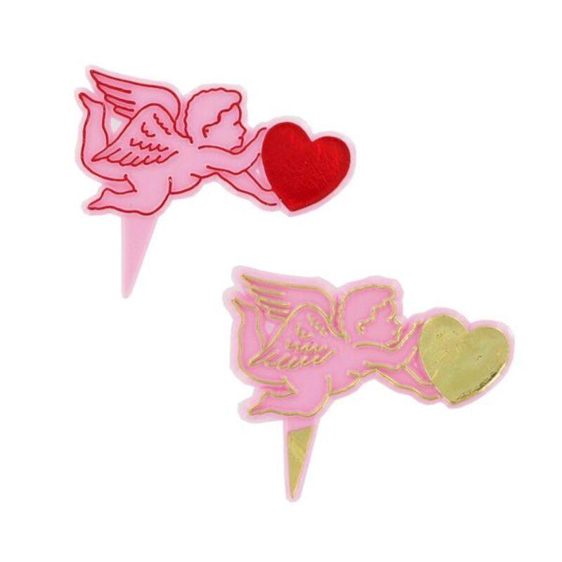 Cupidon plastique sur pique (x120)