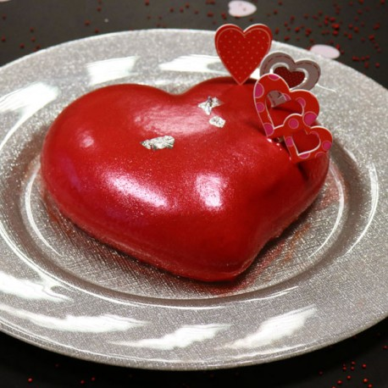 Pack Recette entremets Saint Valentin
