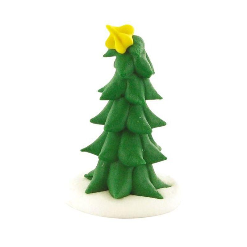 Décors comestibles sapin étoile de Noël (x20)