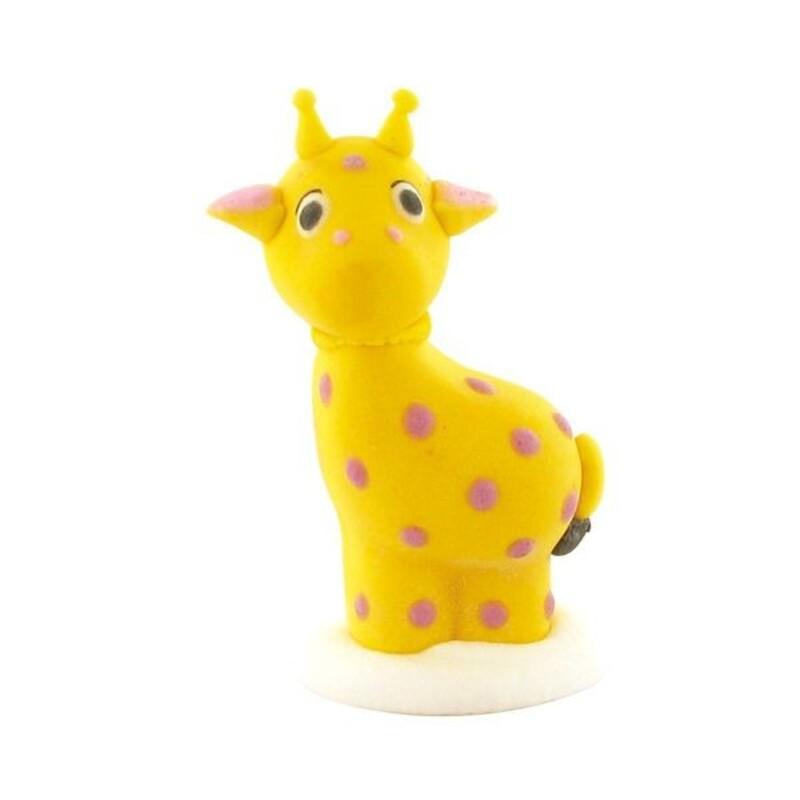 Décors comestibles girafes (x24)