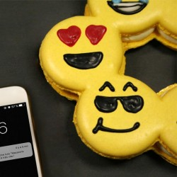 Pack Macarons Smileys