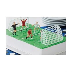Kit décor gâteau Football Wilton