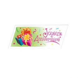 Plaquette Joyeux Anniversaire (x40)