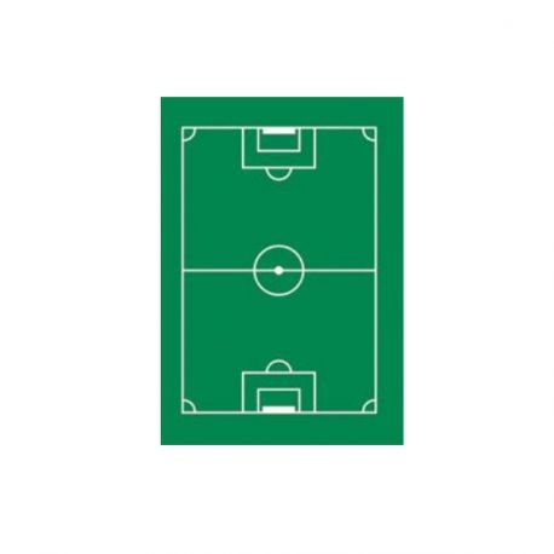 Terrain de football en azyme (x12)
