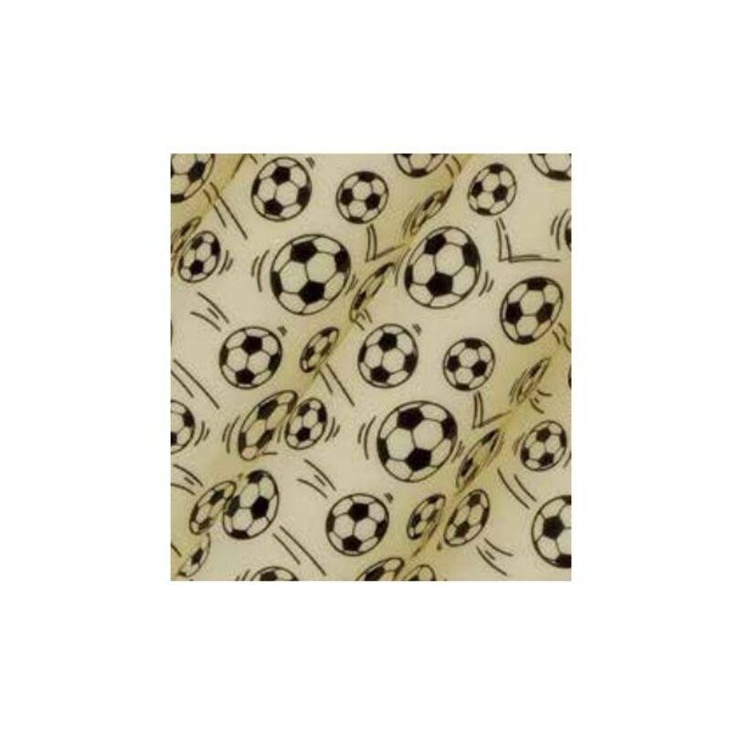 Feuilles transfert ballons de football (x10)