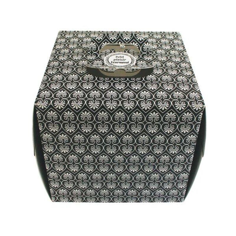 Boîte à gâteau poignées Gatobox 21 cm, hauteur 22 cm