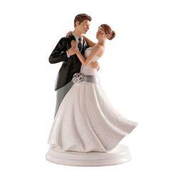 Couple mariés dansant 20 cm