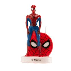 Bougie Spiderman 3D 9 cm