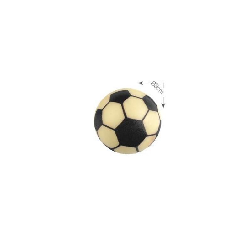 Ballon de football en chocolat 3 cm