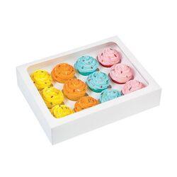 Boîte 12 mini cupcakes Wilton (x3)