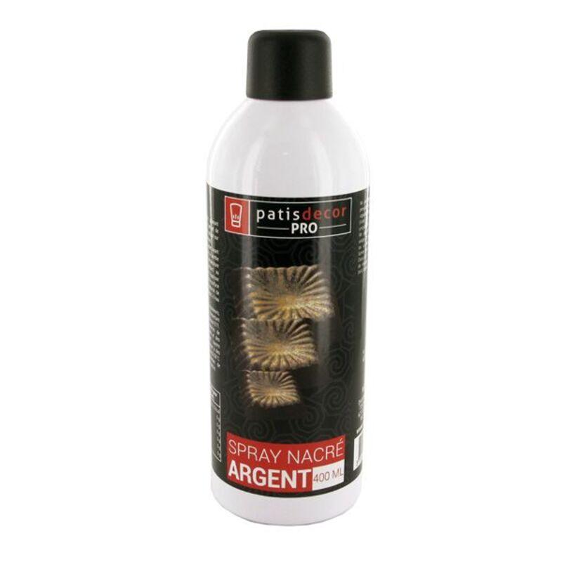 Spray colorant effet nacré Argent 400 ml