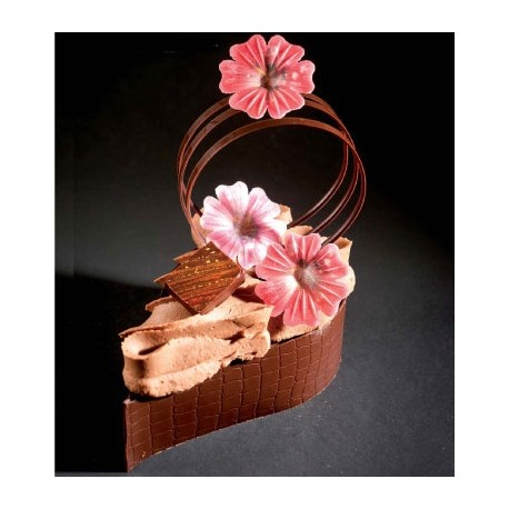 Fleurettes relief assorties (par 100)