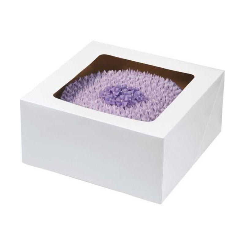Boîte à gâteau carré 30 cm Wilton (x2)