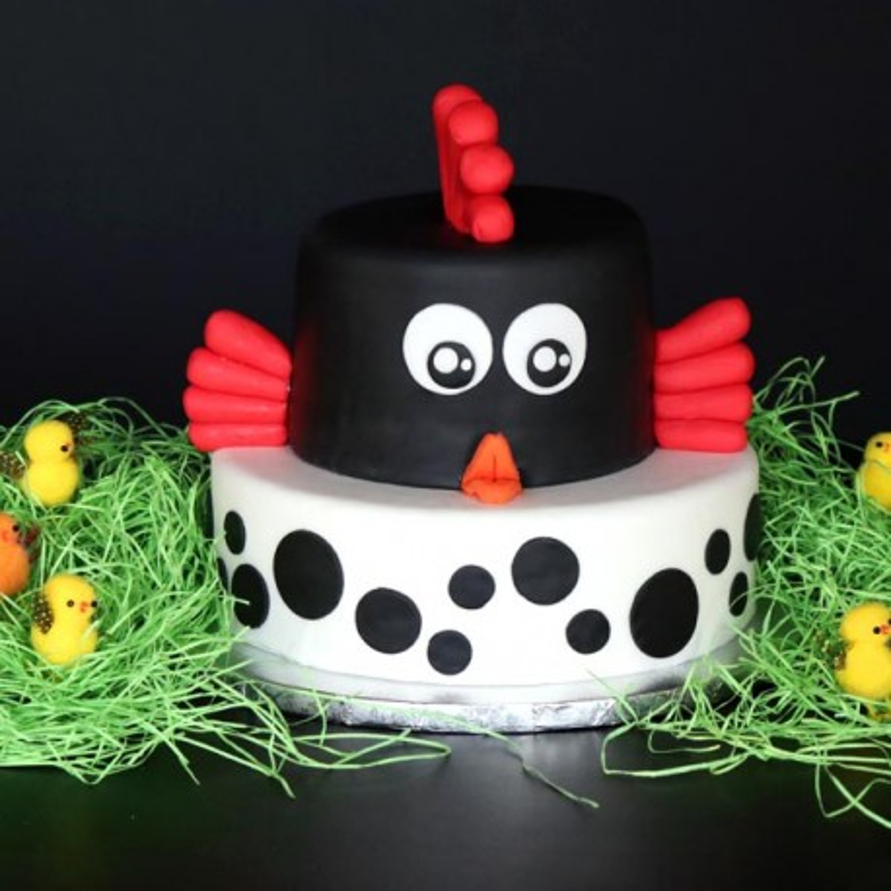 Pack Gâteau Poule de Pâques