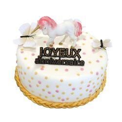 Kit Décor gâteau Licorne