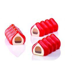 Moule à bûchettes silicone Soft Pavoni