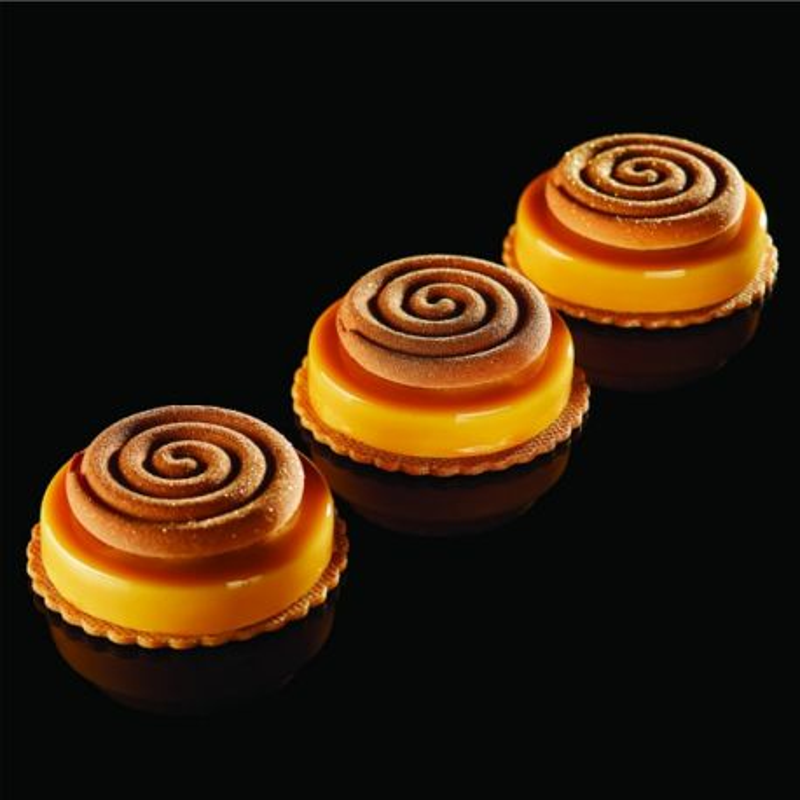 Moule à tarte silicone Ipnosi petit Pavoni