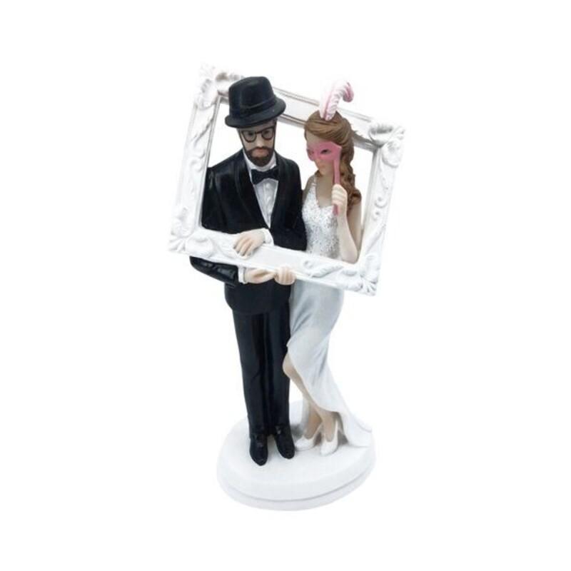 Couple de mariés Cadre Photo 18 cm