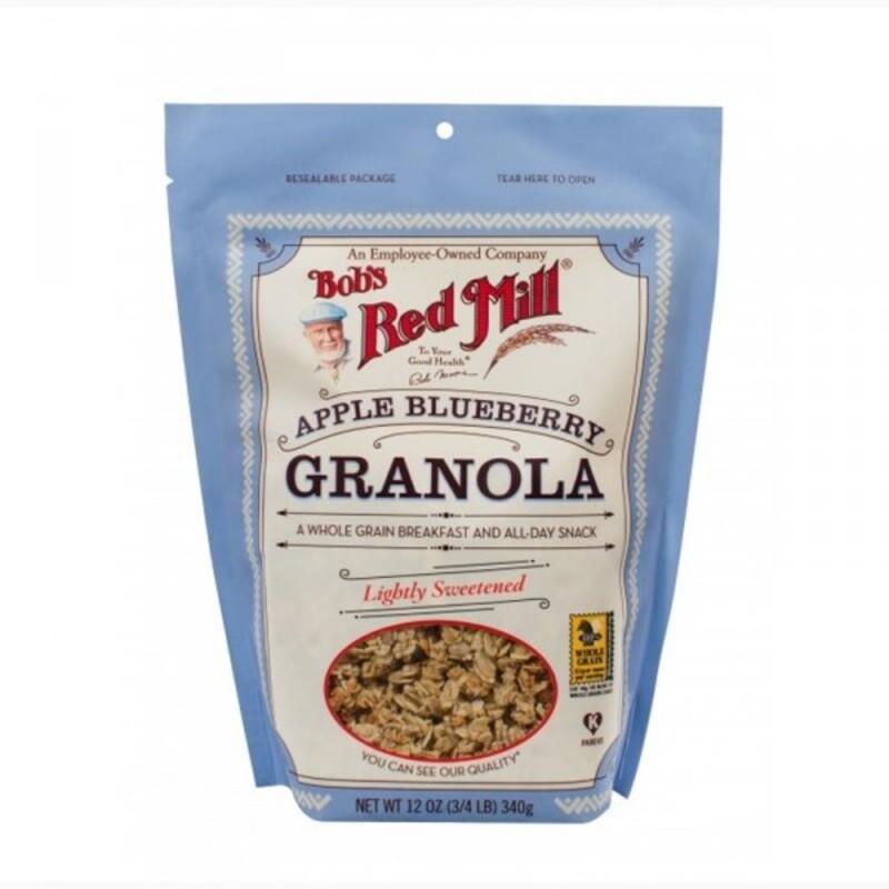 Granola pommes et myrtilles Bob's Red Mill