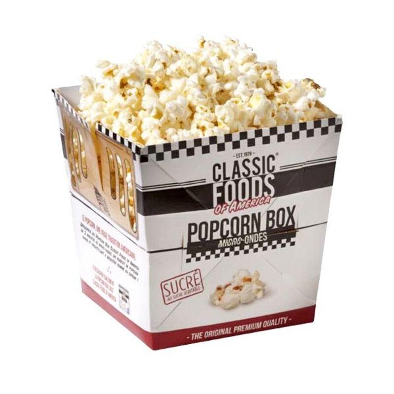 Popcorn box sucré 100 g