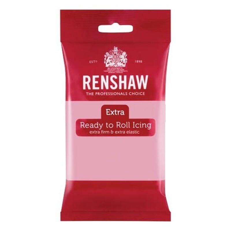 Pâte à sucre Extra rose Renshaw, pâte...