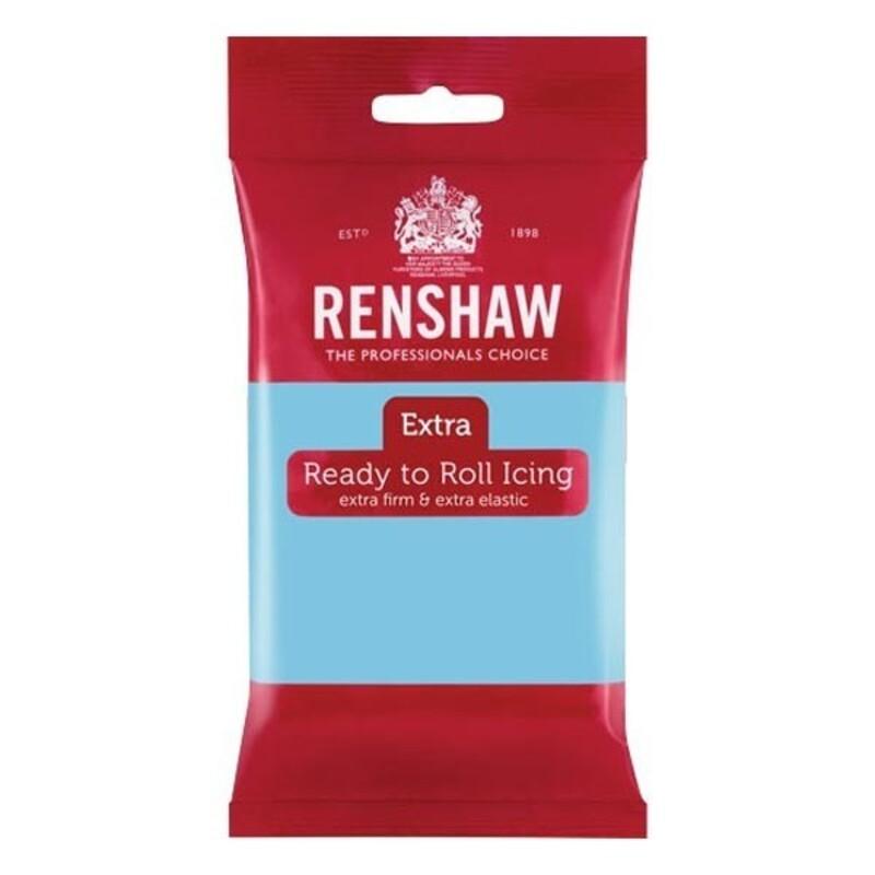 Pâte à sucre Renshaw Extra bleu ciel 250 g