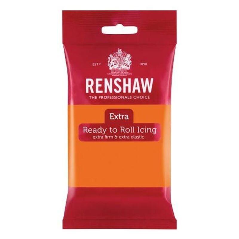 Pâte à sucre Renshaw Extra Orange 250g