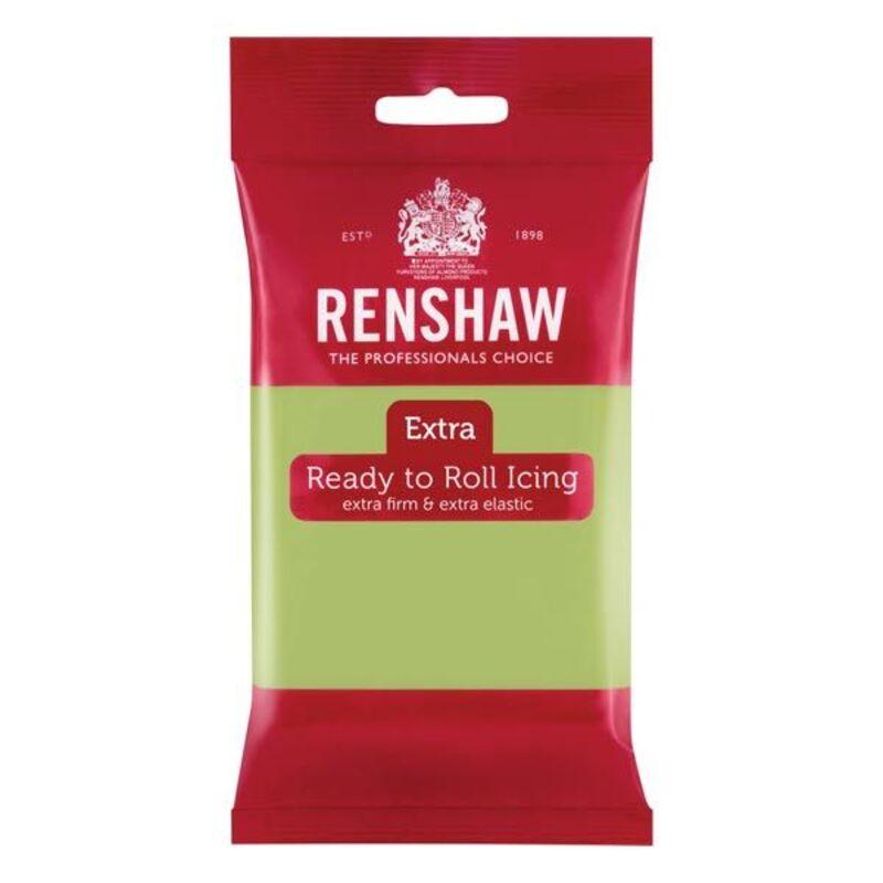 La pâte à sucre vert pastel Renshaw E...