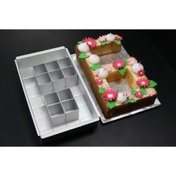 Moule à gâteau alphabet en kit