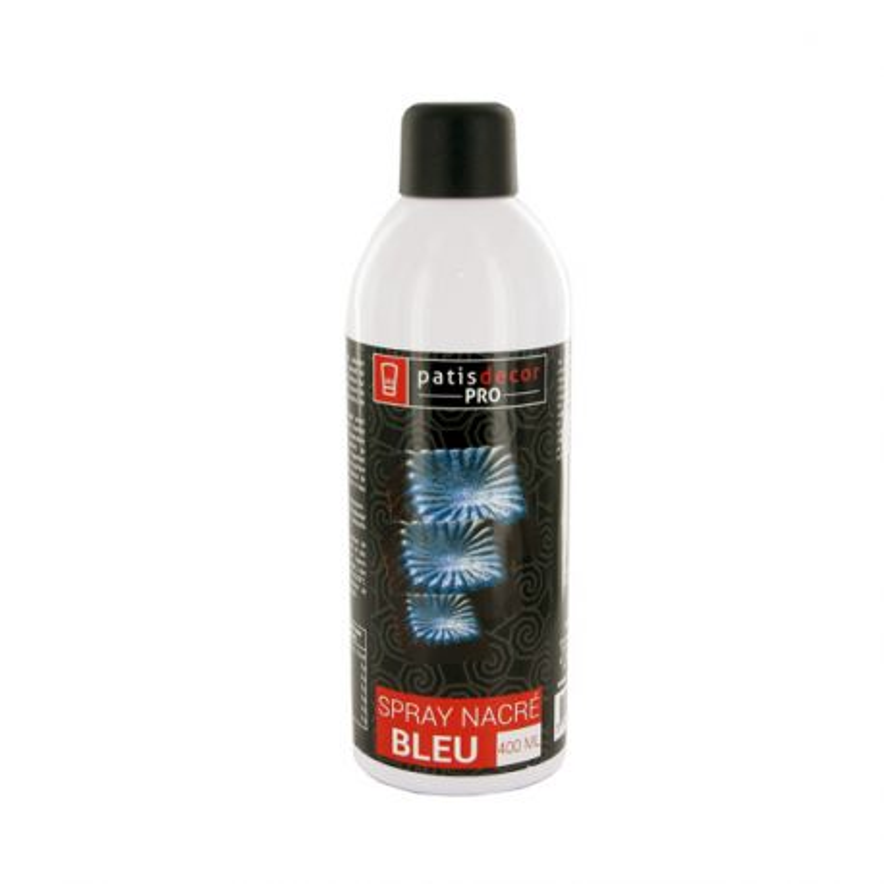 Spray colorant effet nacré Bleu 400 ml