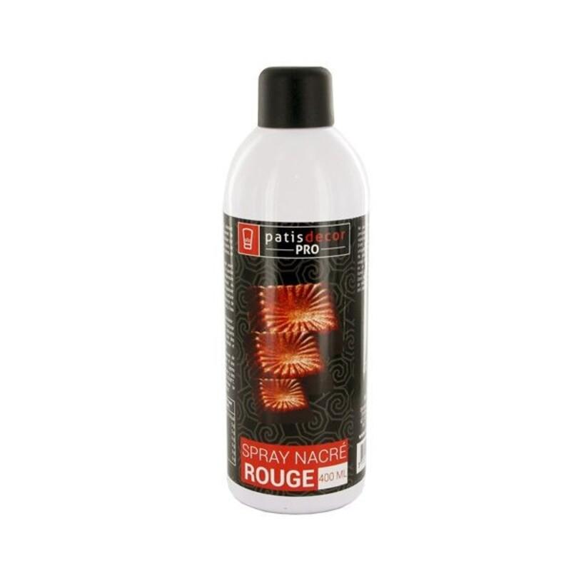 Spray colorant effet nacré Rouge 400 ml